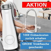 Grohe Blue Aktion
