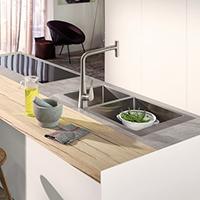 Built-in sinks