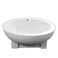 Trapezoid bath