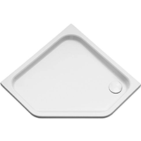 Pentagonal shower tray