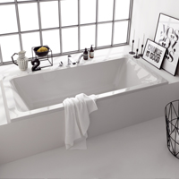 Baths and shower trays