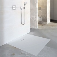 Shower surface and drainage