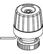 Heimeier TA EMOtec Stellantrieb 180700500 230 V, stromlos geschlossen (NC)