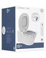 Ideal Standard Connect Air Wand Tiefpül WC K819501 weiß, randlos, softclose, Kombipaket