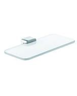 Kludi E2 Ablage 4998705 chrom, Opalglas weiß matt