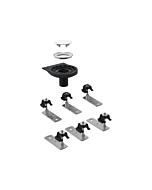 Geberit Setaplano Rohbau-Set 154031001 6 Füße für Setaplano Duschfläche, stockwerksdurchdringend
