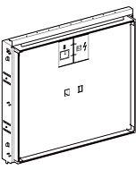 Geberit Gis Fertigbauset 115420111 weiß-alpin, für Waschtisch schwebendes Design