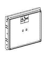 Geberit Gis Rohbaubox 461452001 für Spiegelschrank ONE B 97cm