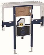 Geberit Duofix Waschtisch-Element 111083001 B 110cm, b 30cm, für Waschtisch und Wandarmatur ONE, mit UP-Clou