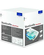 Villeroy & Boch Venticello WC Combi Pack 4611RLR1 weiß mit CeramicPlus, DirectFlush, mit WC-Sitz