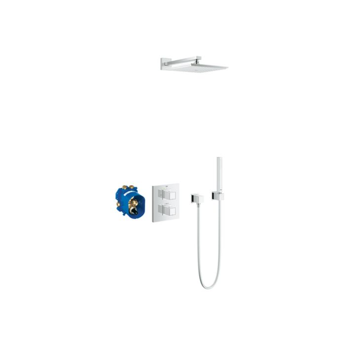 Grohe Grohtherm Cube 230 Duschsystem 34506000 Unterputz Thermostat