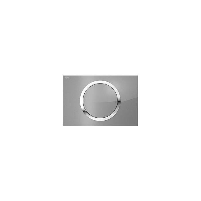 Mepa 421668 Bet/ätigungsplatte MEPAsun matt verchromt 2-Mengen Typ A31//B31