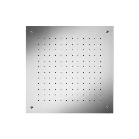 Herzbach Living Spa iX douche de pluie plafond 11650000209  acier inoxydable 50 x 50 cm