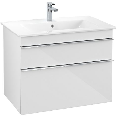 Villeroy & Boch Meuble sous-lavabo Venticello A92501DH, 753 x 590 x 502 mm Glossy White