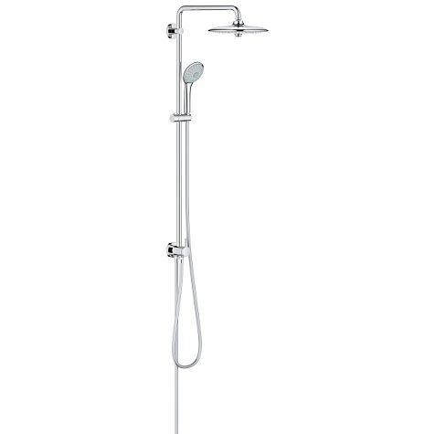 Grohe Euphoria System 260 Shower System 27421002  chrome, with diverter