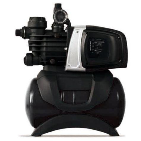 Ewuaqua ecoMatic 4-50 L Hauswasserwerk 61062 integrierte Steuerung, anschlussfertig mit Kabel