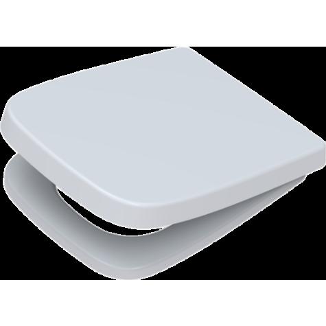 Pagette WC siège Renova Plan 295660202 blanc, avec abaissement automatique, amovible