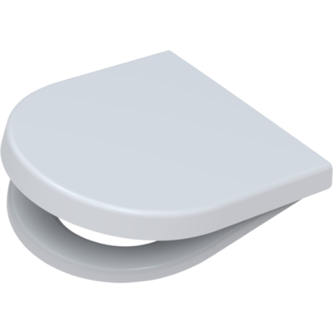 Pagette WC seat Starck 3 295680202 white, removable, with automatic lowering