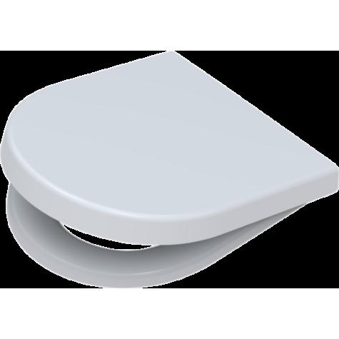 Pagette WC siège Starck 3 295680202 blanc, amovible, avec abaissement automatique