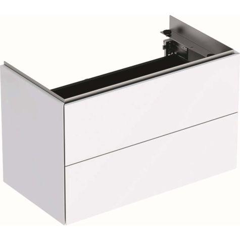Geberit One meuble sous lavabo 500381011 2 portes,  74,4x46,5x39,6 cm, blanc brillant