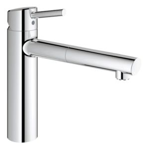 Grohe mitigeur d' Concetto 31214001 basse pression, bec extractible, chrome