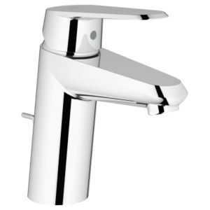 Grohe wash Eurodisc tap Eurodisc 3319020E Cosmopolitan, chrome, with pop-up waste, EcoJoy