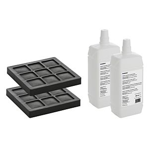 Geberit AquaClean Reiniger set 240626001 2 activated carbon filters and 2 nozzle cleaners