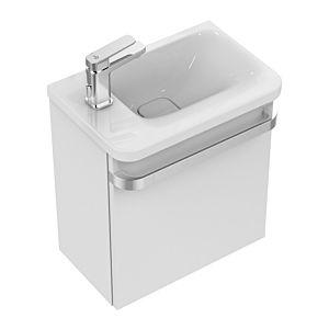 Ideal Standard Tonic II Handwaschbecken K086601 46x14x31cm, weiss, Ablage links, ohne Überlauf