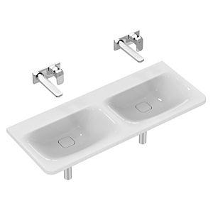 Ideal Standard Tonic II Möbel Waschtisch K0874MA 121,5x17x49cm, weiss I-Plus, IdealFlow, o.Hahnloch
