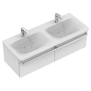Ideal Standard Tonic II Waschtischunterbau R4305FE 120x35x44cm, Eiche grau Dekor