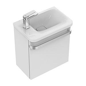 Ideal Standard Tonic II Waschtischunterbau R4318FF Pinie hell Dekor, für Ablage links, 45x26x48 cm