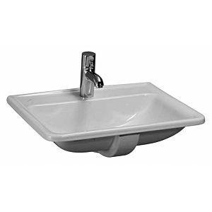 Laufen Pro A Einbau-Waschtisch 8139610001041 56 x 44 cm, weiß, mit Überlauf, 1 Hahnloch