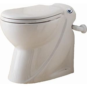 SFA Bathroom ceramics -Stand- WC SaniCompakt Pro white, connection Pro for WT