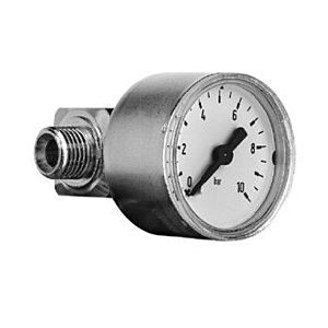 "Syr Manometer 001008500 G 1/4"", 0 - 10 bar, chrom"