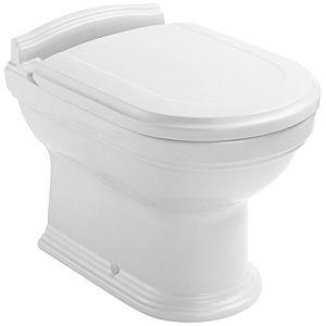 Villeroy & Boch WC-Sitz Hommage Birke massiv/Nussbaum gebeizt, Scharniere edelm.
