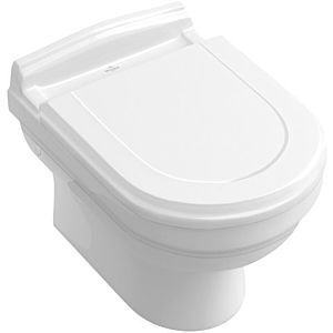 Villeroy & Boch wall- Hommage washdown toilet Hommage 6661B0R1 white with Ceramicplus, horizontal outlet
