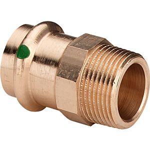 Viega  Übergangsstück 2211 15 mm x 1/2 AG, RG, Mehrkant, SC-Contur