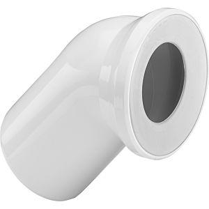 Viega WC-Anschlussbogen 3812 45 Grad, DN 100, weiss