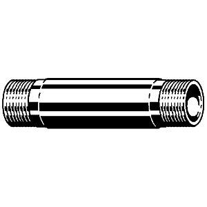 "Viega Rotguss Langnippel 3/4"" AG x 120 mm"