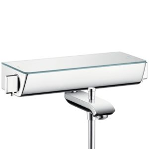 hansgrohe Ecostat Select Wannenthermostat 13141400 weiss-chrom