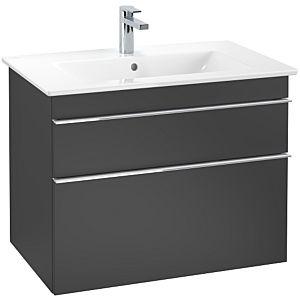 Villeroy & Boch Venticello Waschtischunterschrank A92501PD, 75,3x59x50,2 cm, Black Matt Lacquer