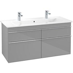 Villeroy & Boch Venticello Unterschrank A92901FP XXL, 115,3x59x50,2cm, Griff Chrom, Glossy Grey