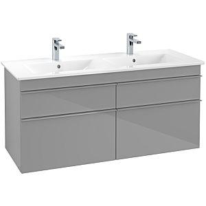 Villeroy & Boch Venticello Unterschrank A93003FP XXl, 125,3x59x50,2cm, Griff Grey, Glossy Grey