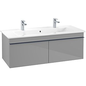 Villeroy & Boch Venticello Unterschrank A93804FP 115,3x42x50,2cm, Griff Blue, Glossy Grey