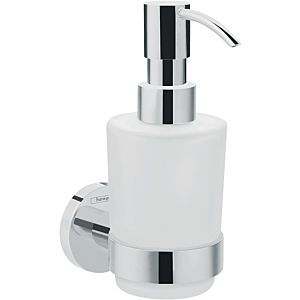 Hansgrohe Logis Universal Lotionsspender 41714000 chrom, Glaseinsatz, Messing