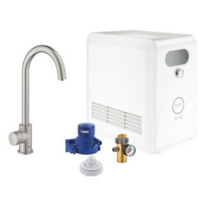 Grohe Blue Professional Mono 31302DC2 Start Kit,supersteel