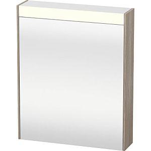 Duravit Brioso LED-Spiegelschrank BR7101L3131 620x760mm, Pine Silver, Tür links