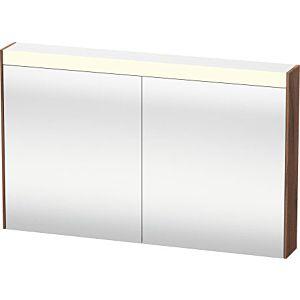 Duravit Brioso LED-Spiegelschrank BR710307979 1020x760mm, Nussbaum Natur, 2 Türen
