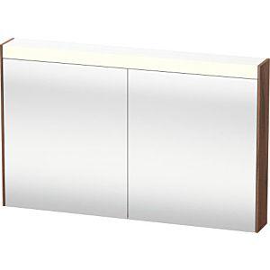 Duravit Brioso LED-Spiegelschrank BR710407979 1220x760mm, Nussbaum Natur, 2 Türen