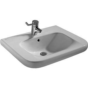 Ideal Standard Waschtisch Contour 21 S238901 60 x 54,5 cm, weiss, mit Hahnloch, unterfahrbar